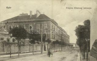 1917 Győr, Frigyes főherceg laktanya