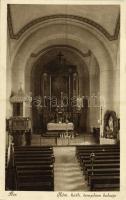 1927 Ács, Római katolikus templom, belső (EK)