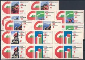 1975 Felszabadulás vágott sor, a Magyar Posta ajándéka (20.000)
