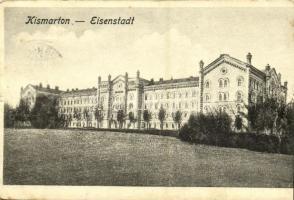 1921 Kismarton, Eisenstadt; Herceg Eszterházy székvára / castle / Residenzschloss des Fürsten Eszterházy (EK)