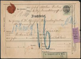 1873 Csomagszállító Lipcsébe