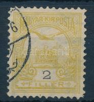 1900 Turul 2f 11 1/2 fogazással, számvízjellel (16.000++)