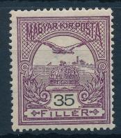 1906 Turul 35f, 2. vízjelállás (30.000)