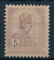 1900 Turul 5K, 2. vízjelállás (76.000)