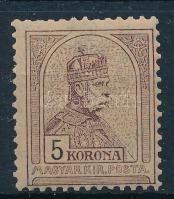 1904 Turul 5K, 2. vízjelállás (110.000)
