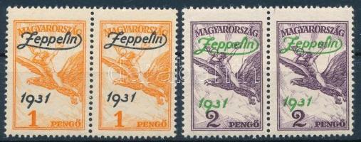 1931 Zeppelin sor párokban (48.000)