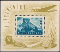 1948 Lánchíd II. blokk (30.000) (apró hibák / minor faults)