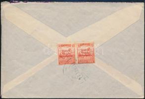 1919 Magyar Tanácsköztársaság 10f pár levélen Grazba
