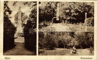 Agárd (Gárdony), Park, Nádasdy obeliszk, temető