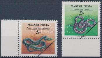 1989 Hüllők MINTA tévnyomat pár (50.000)