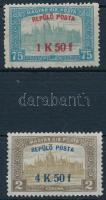 1918 Repülő posta sor (10.000)