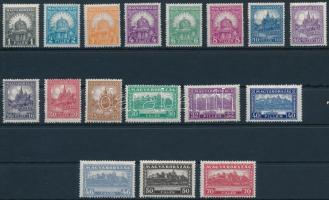 1926 Pengő-fillér I. sor 15-ös fogazással (25.000)