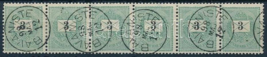 1889 3kr hatoscsík BAVANISTE
