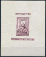 1951 Vágott lila blokk luxus állapotban (375.000)