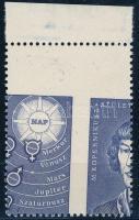1973 Kopernikusz bélyeg extra elfogazással, nagyon ritka