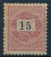 1899 15kr (60.000) (foghiány / missing perf. )
