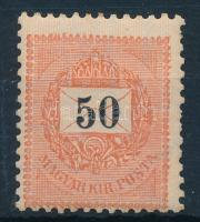 1898 50kr (25.000) (foghiány / missing perf.)