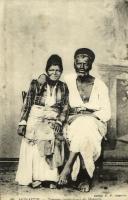 Bitola, Monastir; Tziganes (orthodoxes) de Monastir / Orthodox gypsy couple, Macedonian folklore