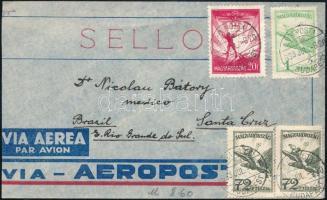1933 Légi levél Brazíliába