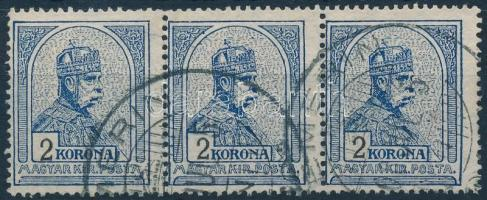 1906 Turul 2K hármascsík (TE)MERIN