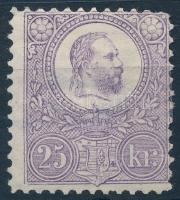 1883 Újnyomat 25kr (13.000)