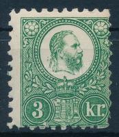 1871 Réznyomat 3kr elfogazva (27.500)