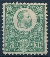 1883 Újnyomat 3kr