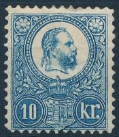 1883 Újnyomat 10kr