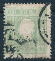 1858 3kr zöld (PES)TH (25.000)