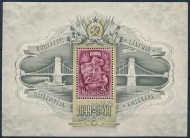 1949 Lánchíd III. blokk (80.000) (apró hibák / minor faults)