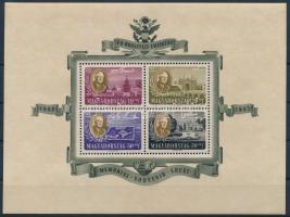 1947 Nagyon jó minőségű Roosevelt légiposta blokk (25.000)