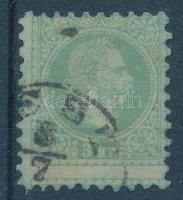 1867 Erősen képbe fogazott 3kr (P)EST