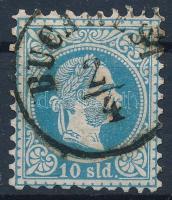 Magyar Posta Romániában 1867 10sld BUCAREST