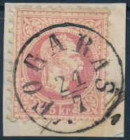 1867 5kr FOGARAS