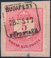 BUDAPEST / FŐPOSTA P.U.
