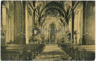 1912 Győr, Római katolikus székesegyház belső