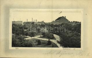 Győr, Batthyányi tér. Hermann Izidor kiadása