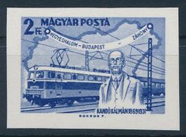 1968 Események (VI.) - Kandó Kálmán vágott bélyeg