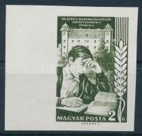 1968 Események (VI.) - 150 éves a Mosonmagyaróvári Agrártudományi Főiskola ívszéli vágott bélyeg