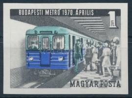 1970 Meteorológiai Szolgálat (I.) vágott bélyeg