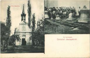 1916 Jászapáti, Kis kápolna, új harangok