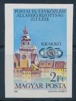 1984 A Postai és Távközlési Állandó Bizottság 25. ülése vágott bélyeg