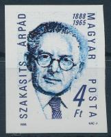 1988 Szakasits Árpád vágott bélyeg