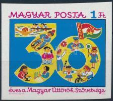1976 Úttörő (III.) vágott bélyeg