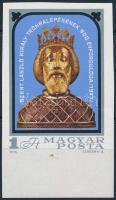 1978 Szent László (I.) ívszéli vágott bélyeg