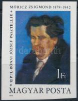 1979 Móricz Zsigmond vágott bélyeg