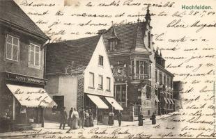 Hochfelden, Buchbinderei / bookbinding, shop of Aloys Sonntag (EK)