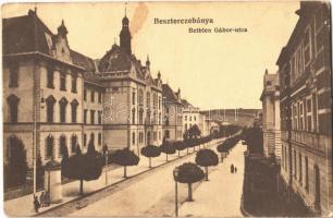 1915 Besztercebánya, Banská Bystrica; Bethlen Gábor utca. Havelka József kiadása / street (EK)