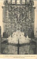 Burgos, Cartuja de Miraflores, Altar Mayor del Siglo XV. por Simón de Colonia / Miraflores Charterhouse, monastery interior, altar from the 15h century