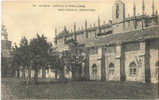 Burgos, Cartuja de Miraflores, Vista Desde el Cementerio / Miraflores Charterhouse, monastery, view from the cemetery